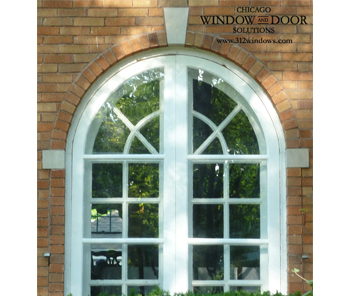 Arched Top Storm Windows – Riverside, IL