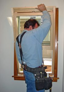 Installation of an insert window