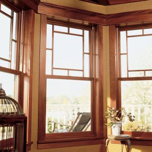 A better alternative to vinyl windows - a wood window from Marvin