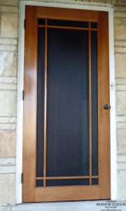 Genial ... Door On This House Was Operational, It Was Worn And A Bit Out Of  Character With The Entrance Door U2013 A Wonderful Craftsman Style Affair With  Art Glass.