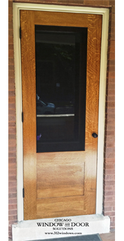 Traditional Wood Storm Doors