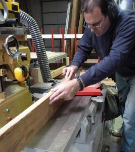 Milling lumber for storm windows