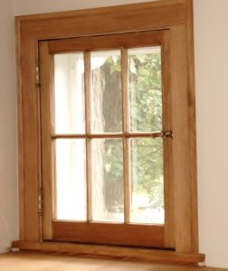 Historic Wood Window Replica
