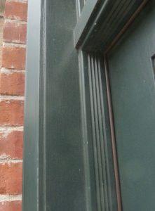 Custom brickmould detail