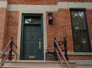 Complete front entry door