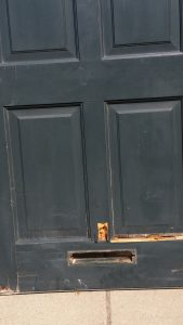 Rotted Entry door