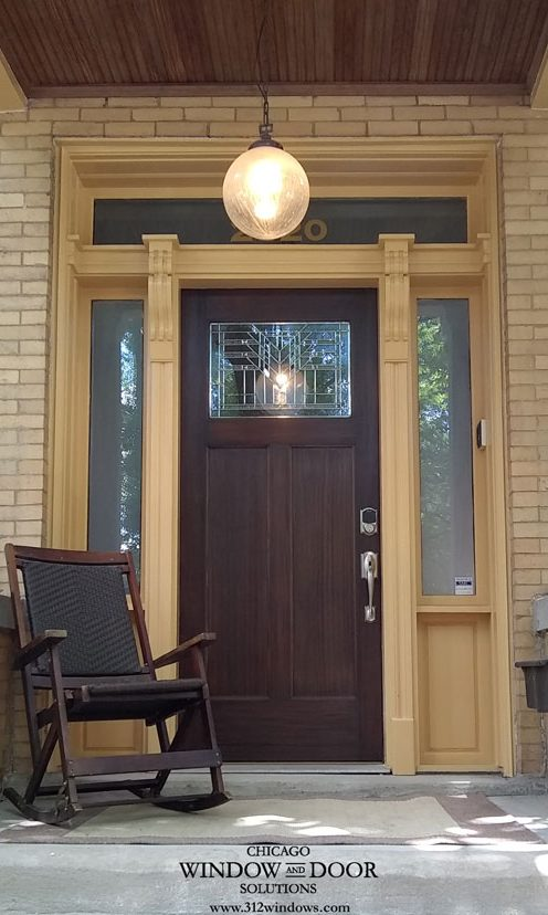 New Simpson Entry Door
